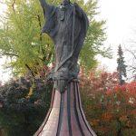 Pomnik z brązu Papieża Jana Pawła II