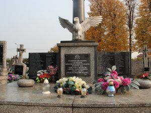 Pomnik nagrobny ofiarom zbrodni hitlerowskich
